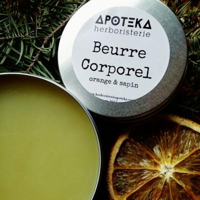 Beurre Corporel #Sapin&Orange