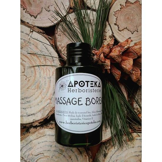 Massage Boréale - Parfum de forêt